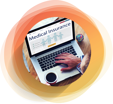 medical insurance policy administration with automated bots functionalities
